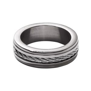 💖Men's Stainless Steel Rope Ring💖
